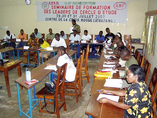 You are browsing images from the article: Formation des leaders de cercle d'études 2007, Part 1